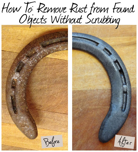 This trick makes removing oxidation easy