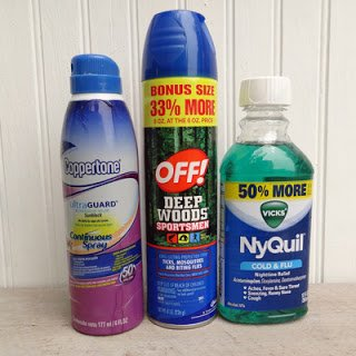 The 3 best things to donate to hurricane/tornado disaster relief: sunscreen, bugspray, unopened OTC medication.