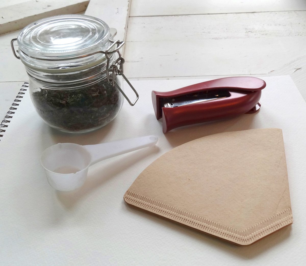 supplies needed for homemade tea bags