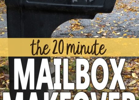 quick tutorial on turning standard mailbox numbers into curb appeal