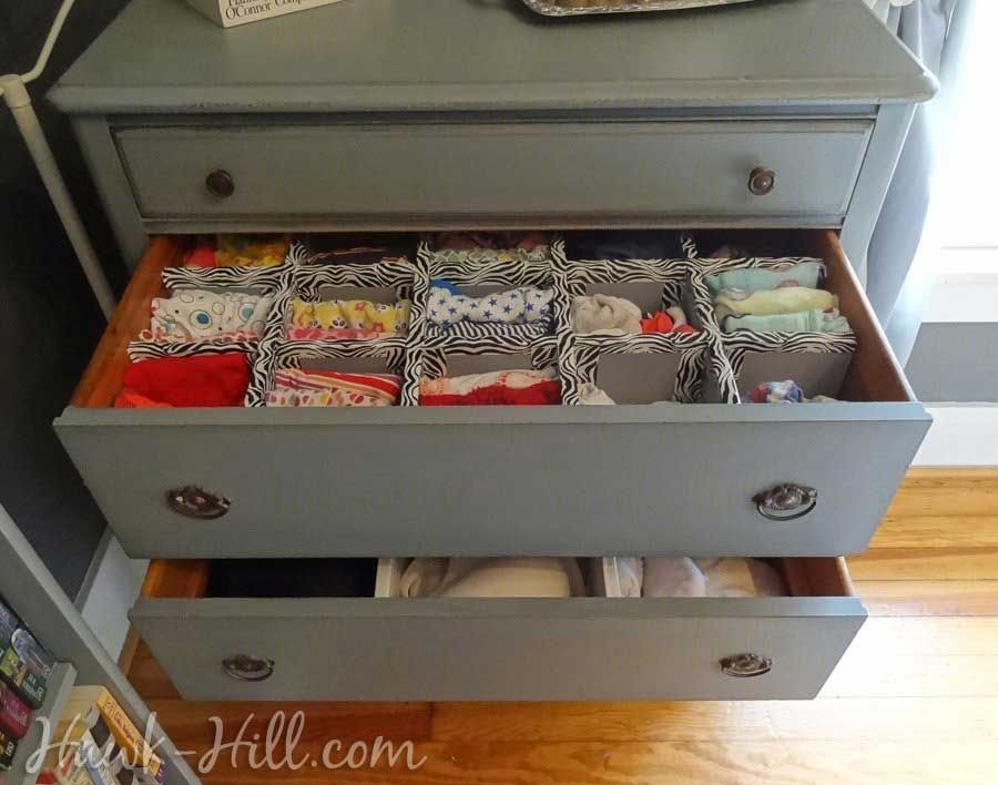 How To Make Durable Drawer Dividers For Pennies: Hawk Hill.com