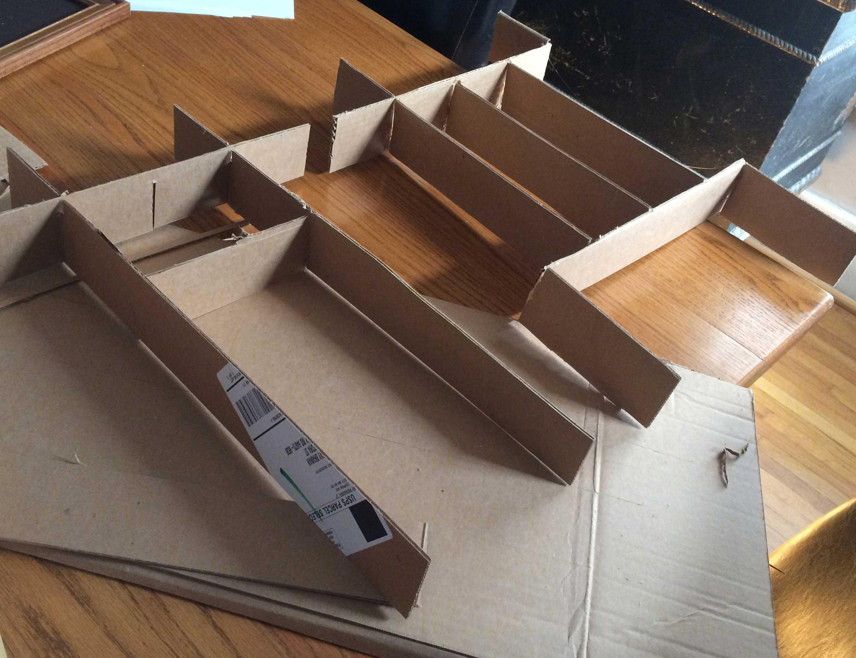 small closet arrangement ideas - Tutorial DIY Drawer Dividers Kitchen Edition Hawk Hill