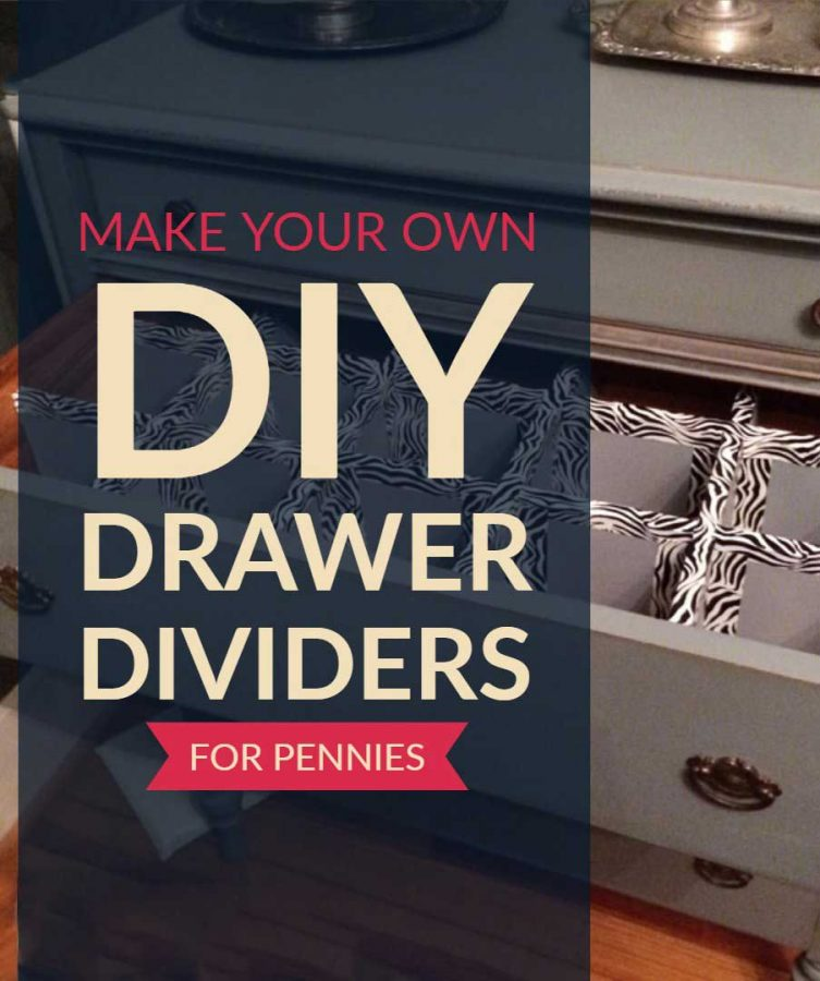 How to use builder grade foam sheets to create durable DIY drawer dividers