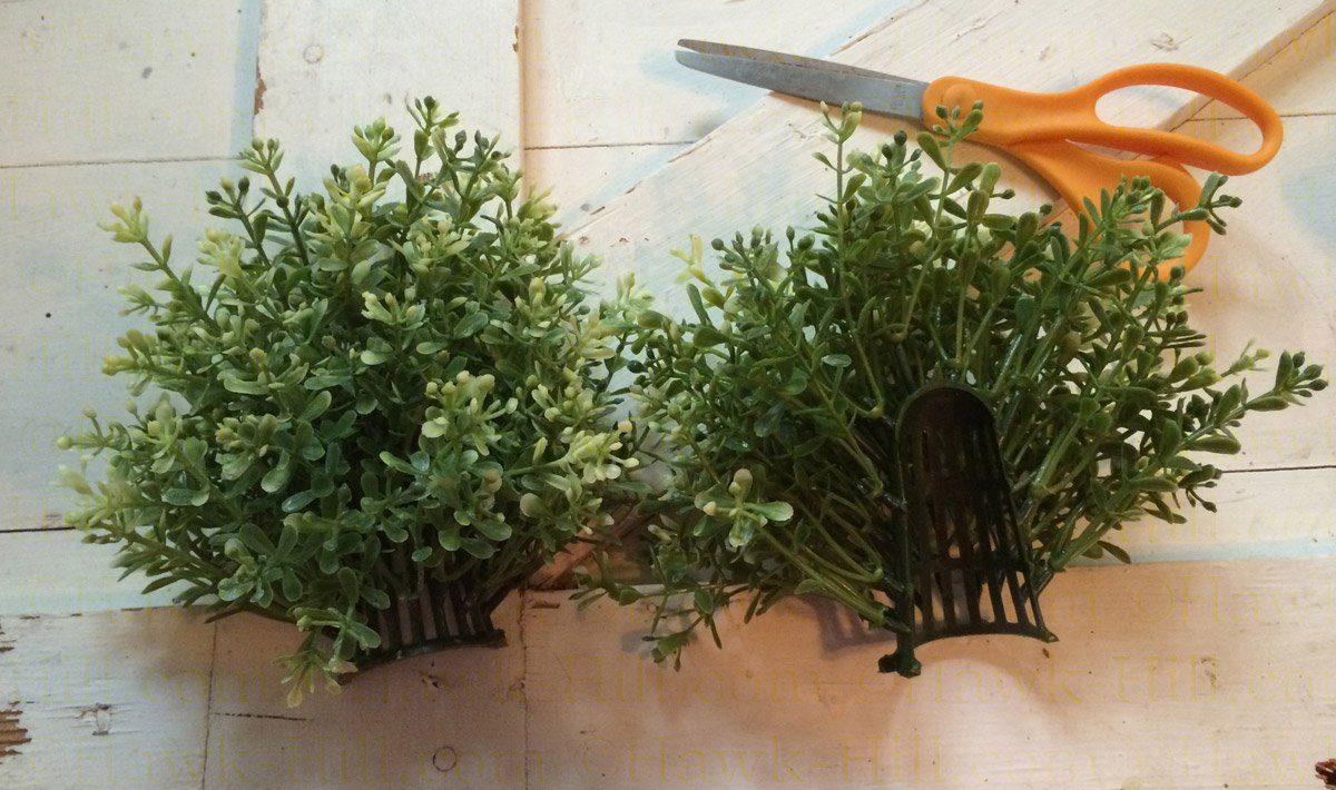 Hacking ikea 39 s fejka potted plant to fit in vintage for Ikea plantes