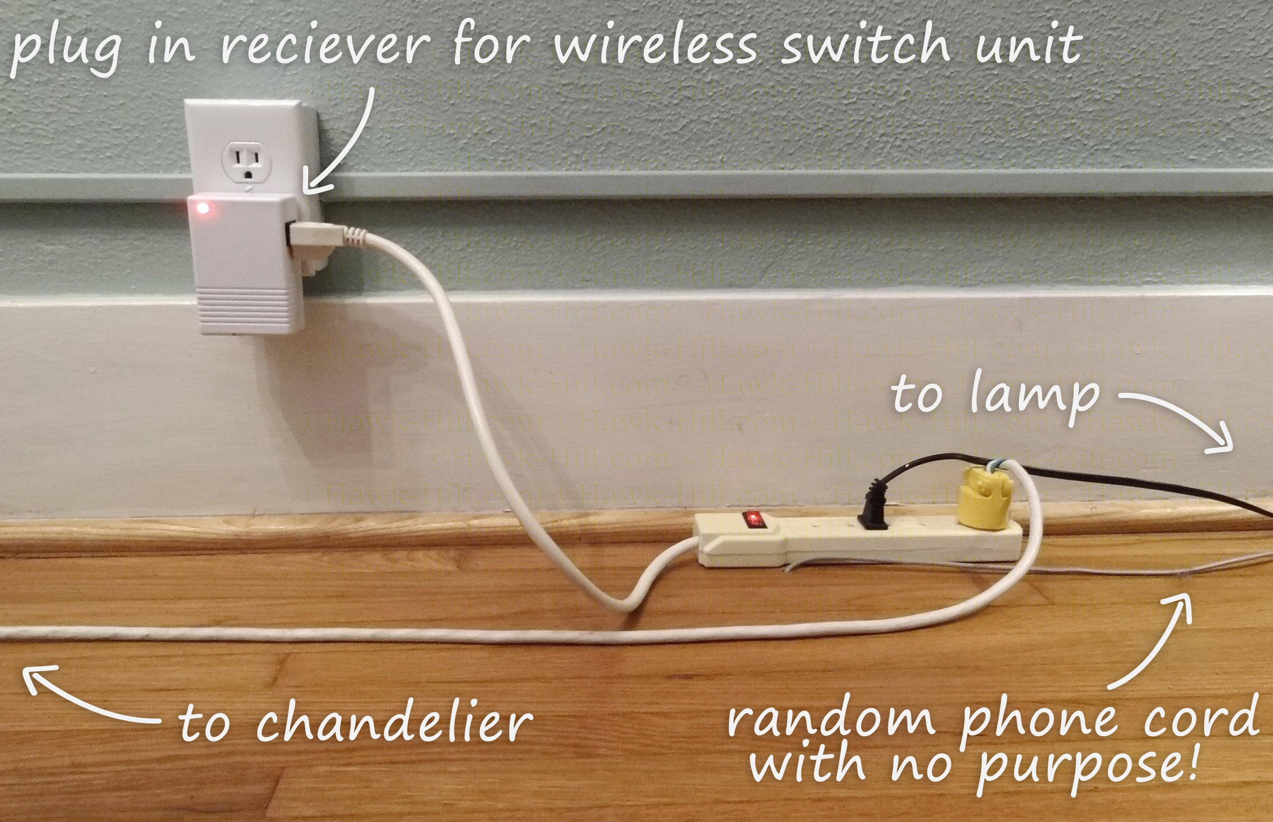 How To Add A Wireless Lightswitch Light Room Without Hardwired Outlet