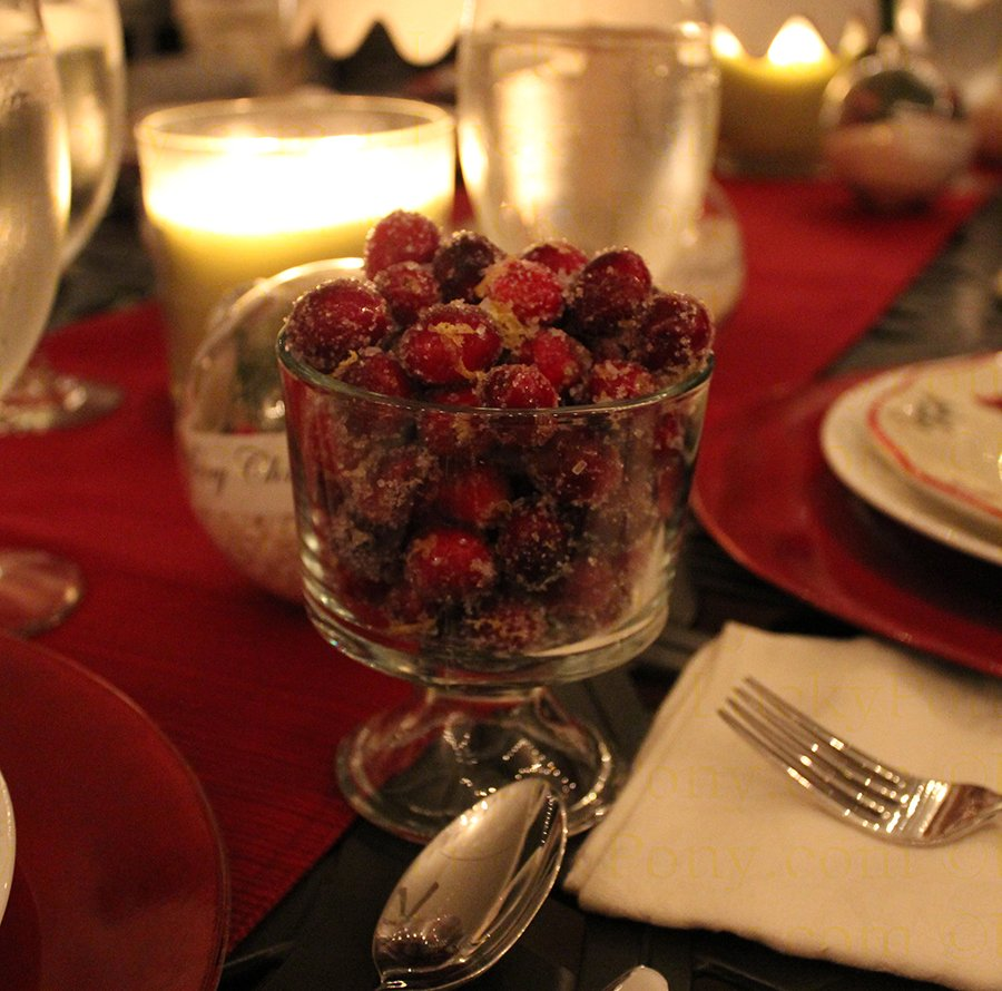 jeweled cranberries
