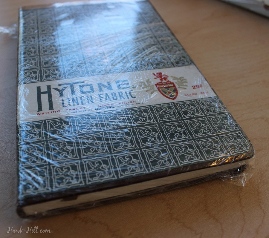 How To Add A Vintage Cover To A New Notebook Or Journal