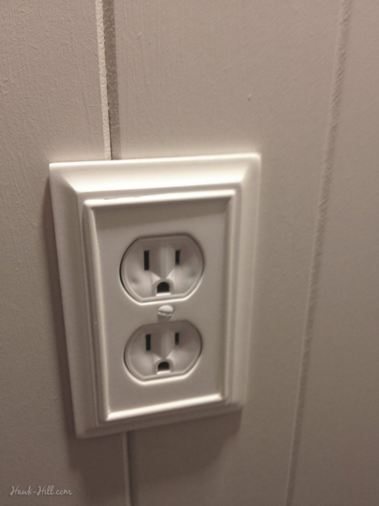 upgraded wall outlets make a huge impact