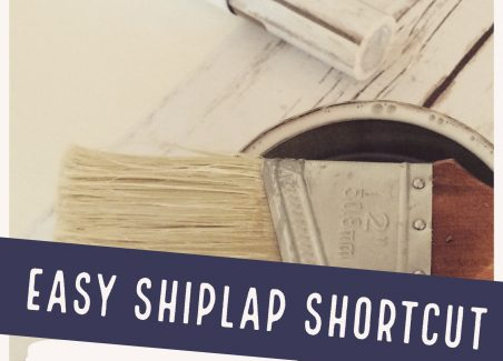 How to add faux shiplap to walls, doors, and accent walls