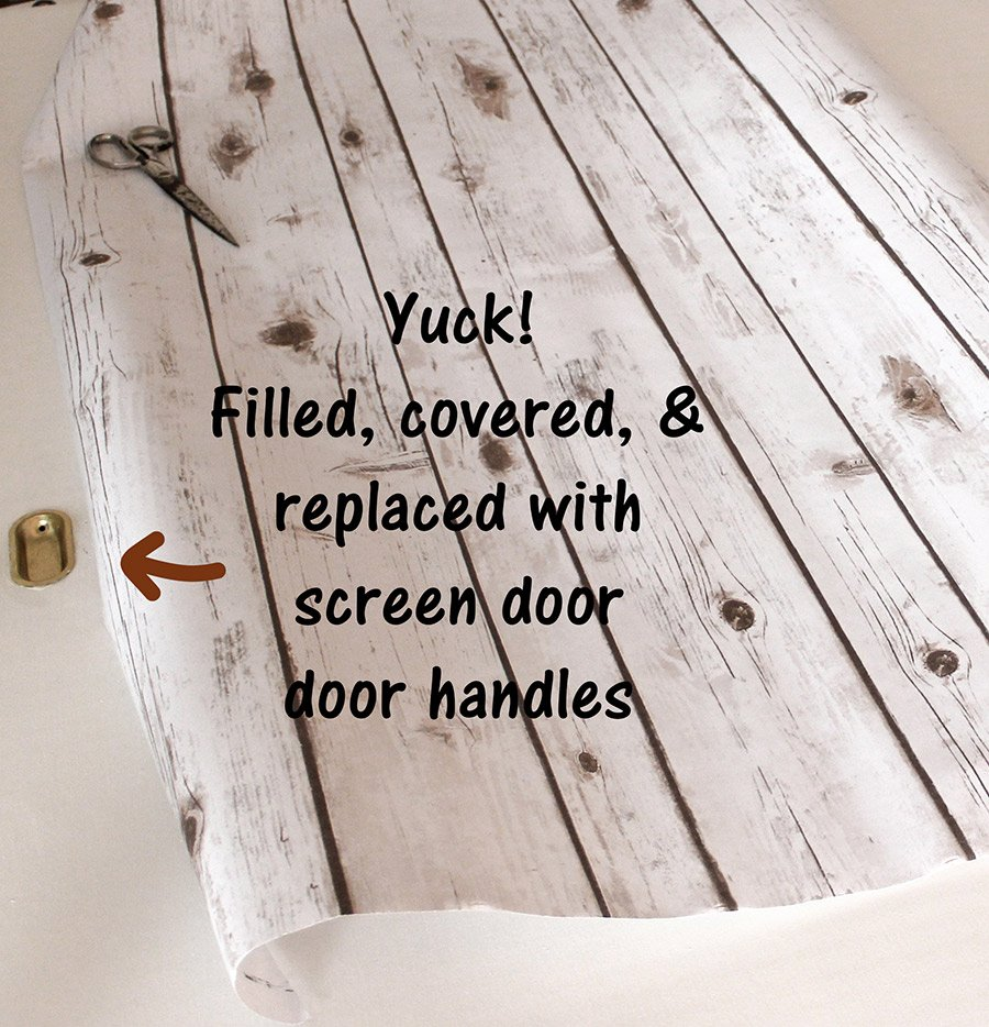 Faux Barn Door Create Cheap Lightweight Faux Barn Wood With Photo Backdrop Paper