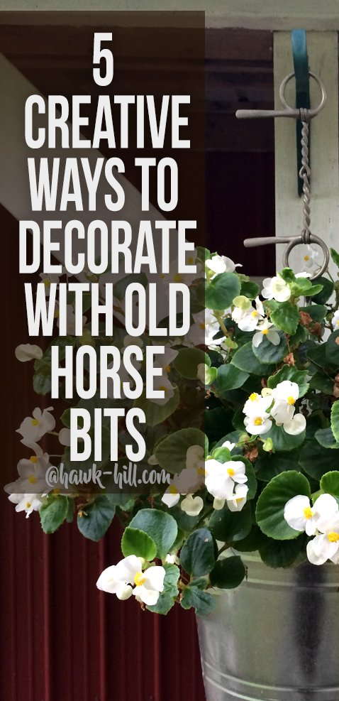 5 Ideas for Decorating with Old Horse Bits
