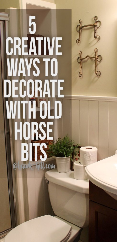 5 Crestive Ideas to decorate with horse bits in unexpected places