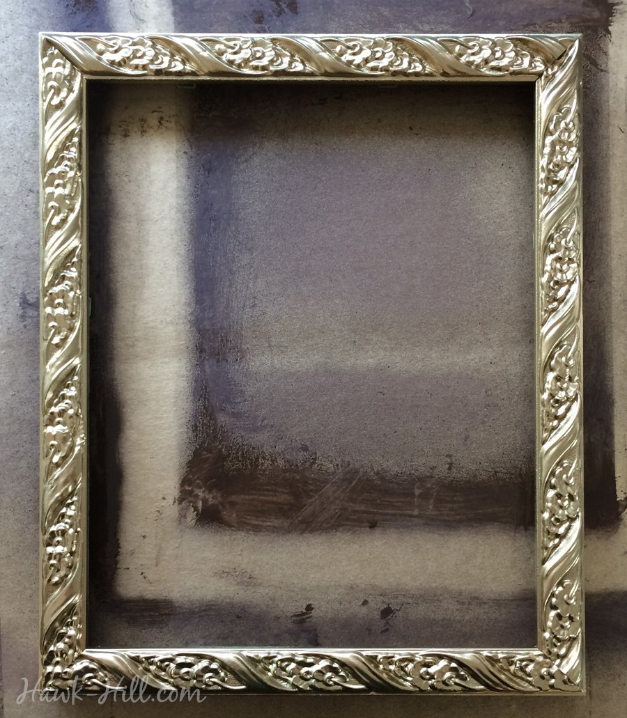 cc419c84b1b Diy My Method For Creating An Antique Gold Patina Finish On Frames