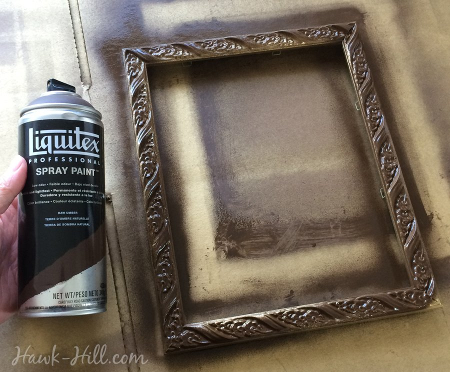 DIY: My Method for Creating an Antique Gold Patina Finish on Frames ...