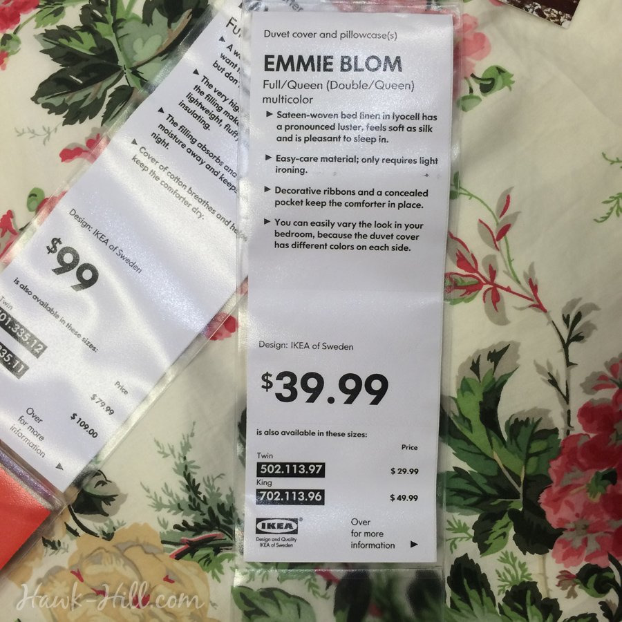 review for Ikea Blum Duvet239
