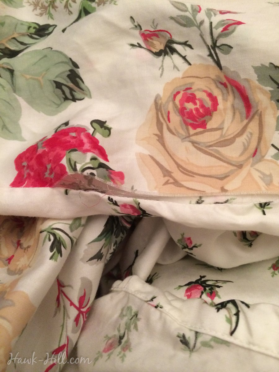 review for Ikea Blum Duvet with ripped seam
