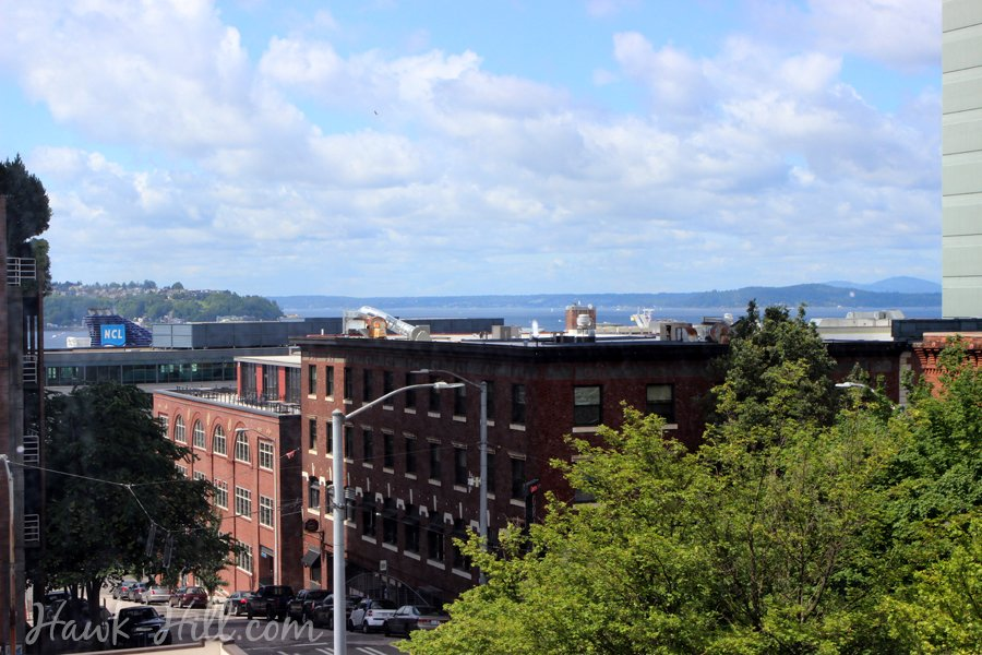 Seattle Apartment in Belltown near Pike Place Market with Puget Sound View