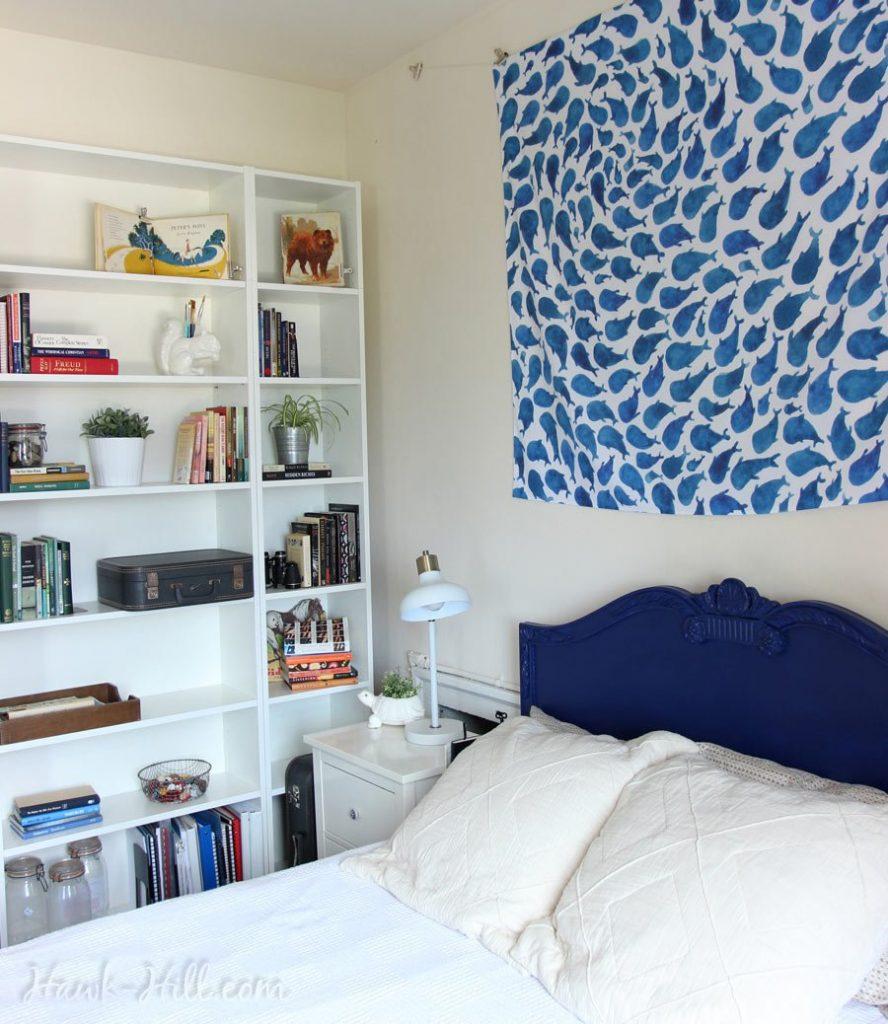 Seattle Studio Apartment and Ikea Billy Bookshelves