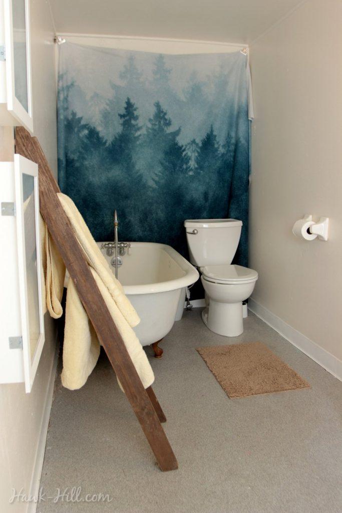 Big Bathroom in Tiny Seattle Apartment