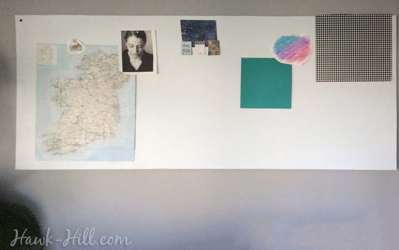 how to make a fabric covered real pinboard for under $20 Image _59