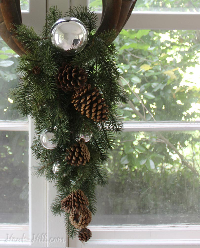 horse harness wreath howto 8