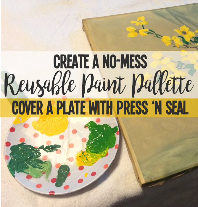 Easy Cleanup Paint Pallette