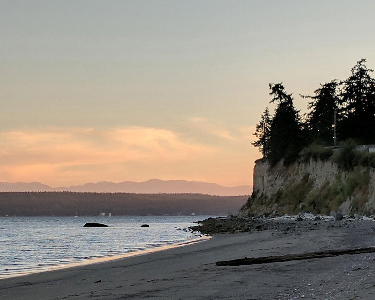 My favorite sea cliff on whidbey island