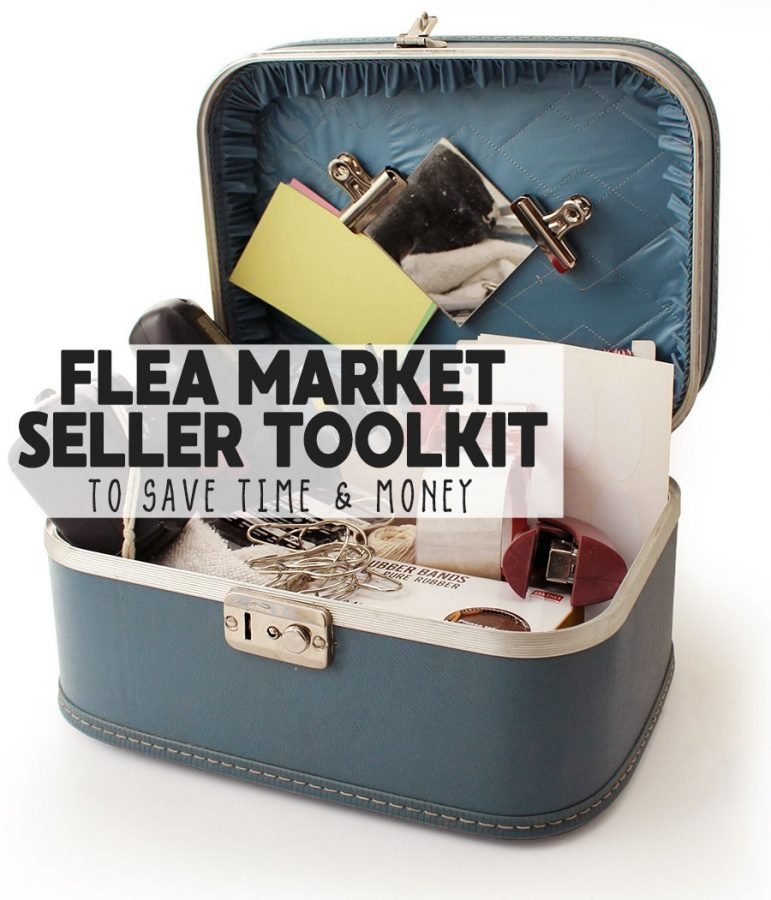 learn how to create this basic kit to help you save time and increase profit managing your flea market booth business