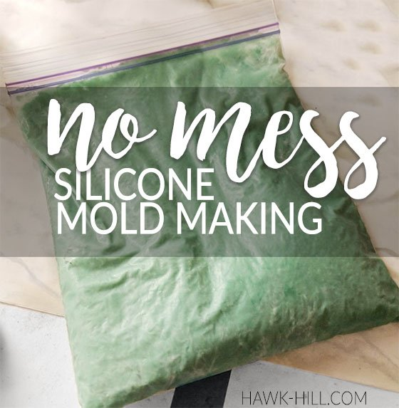 How to make custom silicone molds - no mess method