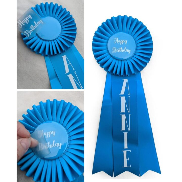 Follow these simple instructions to make personalized award ribbons- and present impressive custom prize rosettes in your classroom, event, competition, or show.