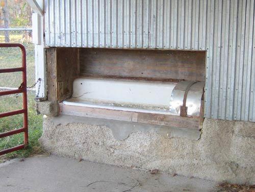 communal style nesting box