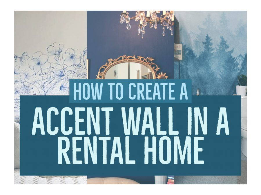 How to add an accent wall to your apartment without risking deposit