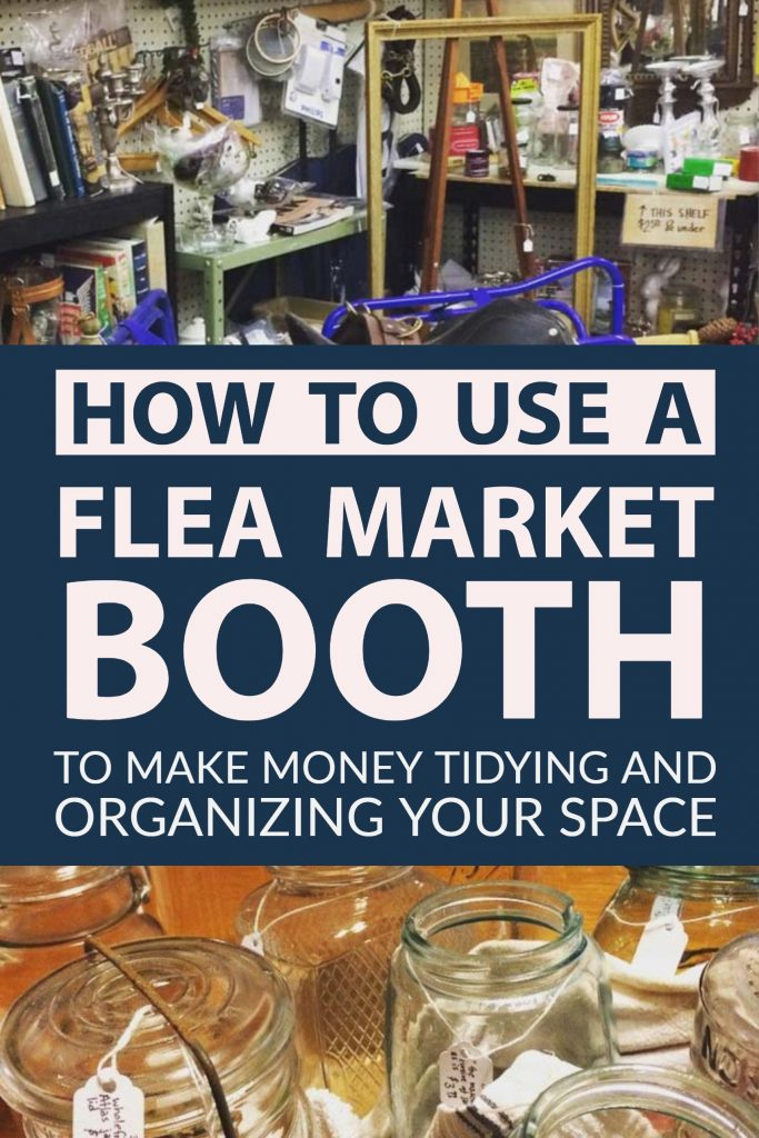 tips for managing a flea market booth