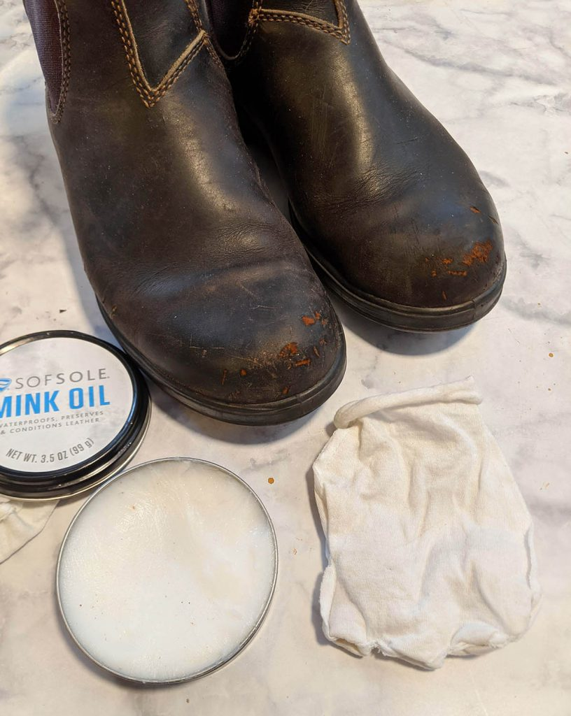 quality boots like blundstone's are easy to repair