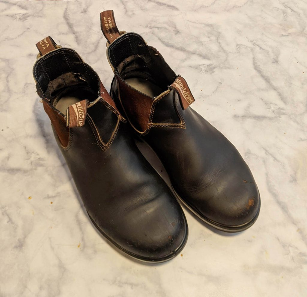 anyone can restore a scuffed pair of boots using these tips
