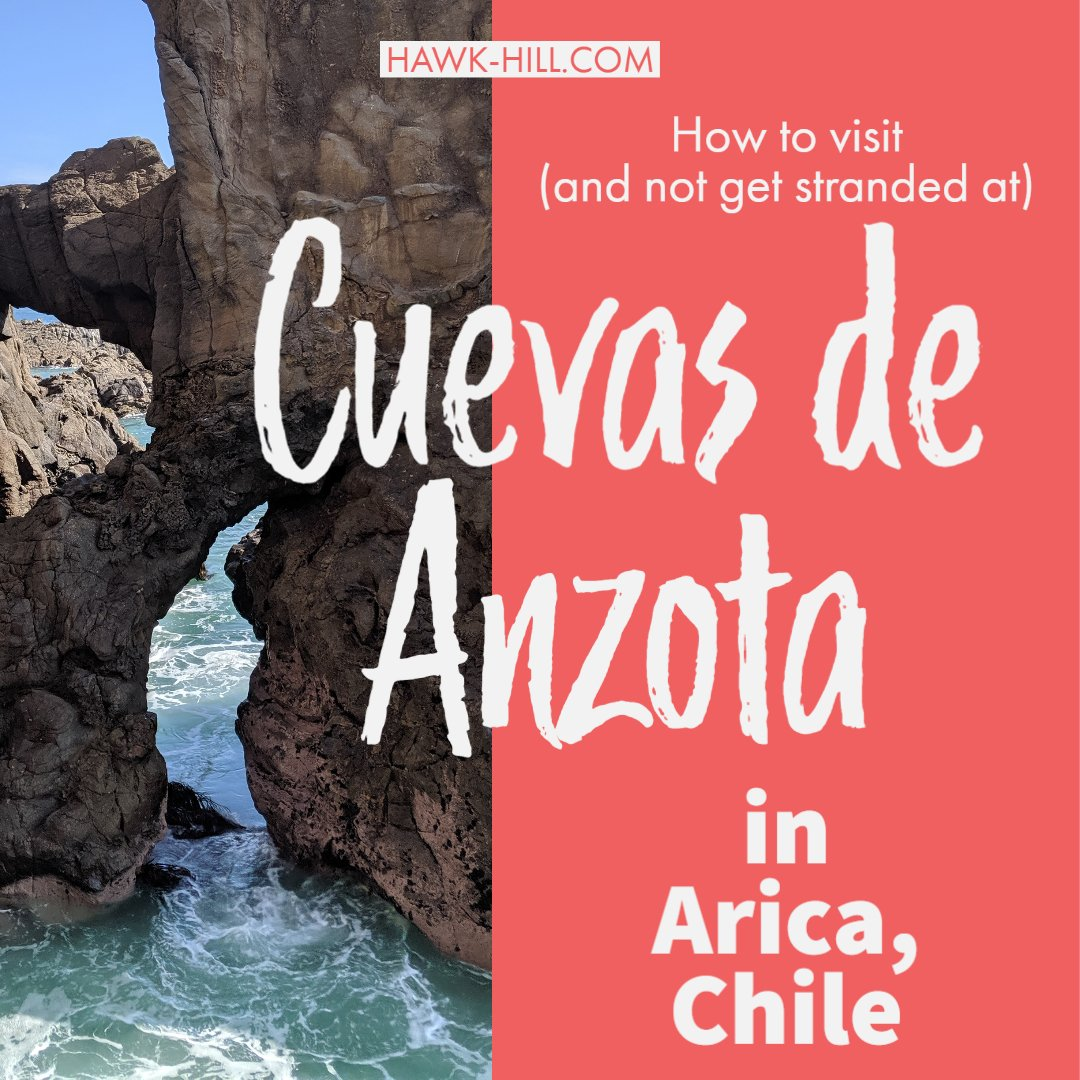 visiting the sea caves in Arica, Chile