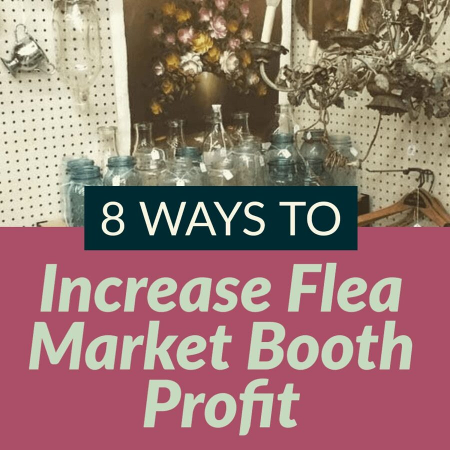 8 tips to boost profit for your flea market business