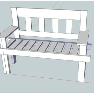 Porch Swing, Vintage Bench, and Entry Bench Plans – Free Basic Woodworking Plans