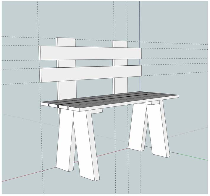 Porch Swing, Vintage Bench, and Entry Bench Plans - Free Basic Woodworking Plans