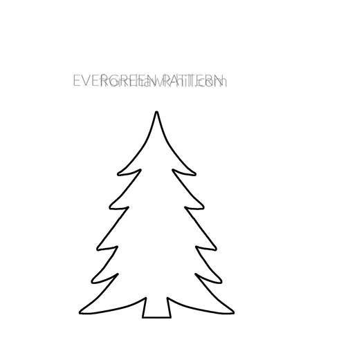 Free Evergreen Template