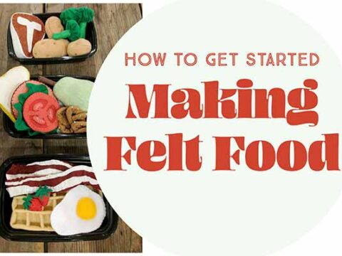 how to make fake food
