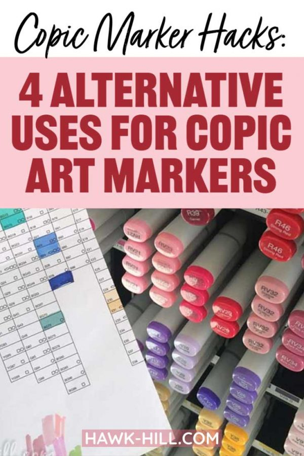 Creative Copic markers hacks