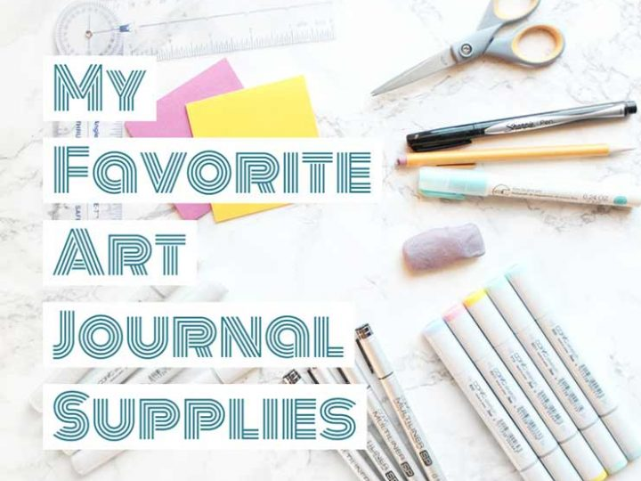 My favorite supplies for journaling and bullet journaling