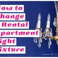 How to change a light fixture in your rental apartment without risking your deposit