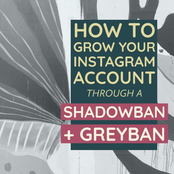 Tips for growing your instagram account even if you are dealing with a greyban or shadowban