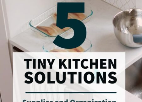 how to make the most of a tiny house kitchen