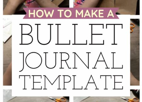 How to make a time saving bullet journal template to quickly repeat your favorite pages in your bullet journal