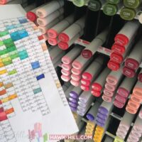 Alternative uses for Copic markers