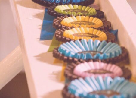 Decorating with award rosettes