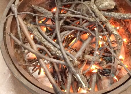 How to make a fake campfire for children's parties, indoor camping, or theater productions